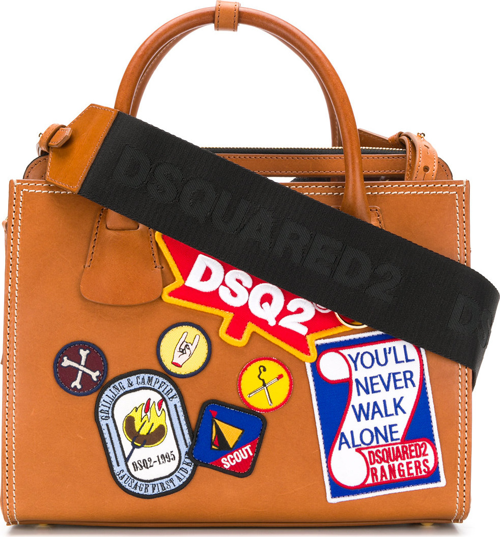 DSQUARED2 - Patch detail tote