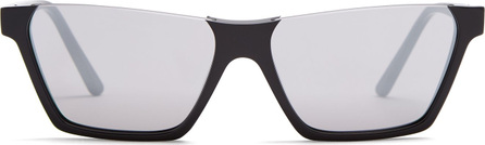 Celine Rectangular-frame acetate sunglasses