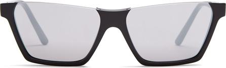 Celine Rectangular-frame acetate sunglasses