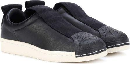 Adidas Originals Superstar leather slip-on sneakers