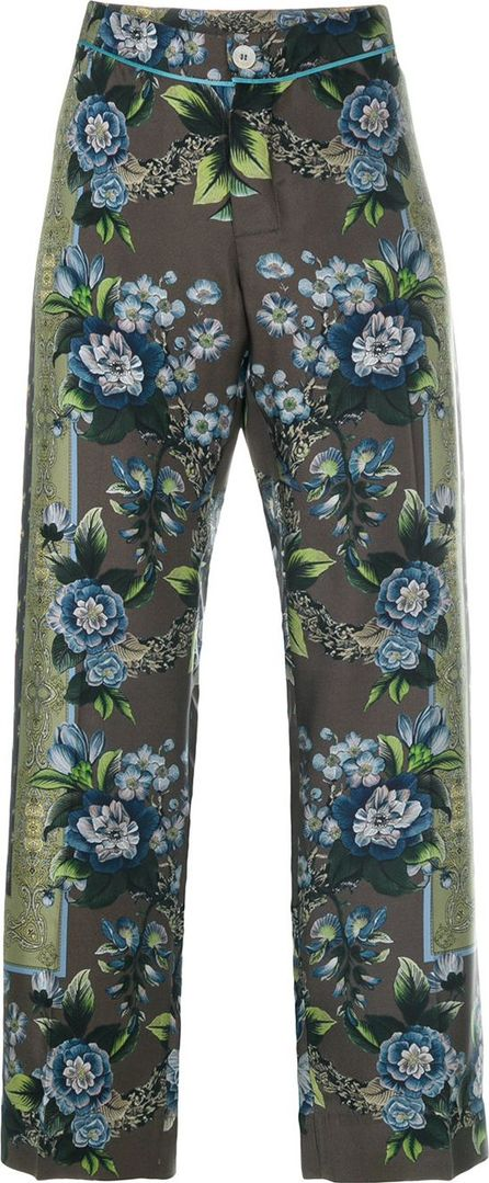 F.R.S For Restless Sleepers floral cropped trousers