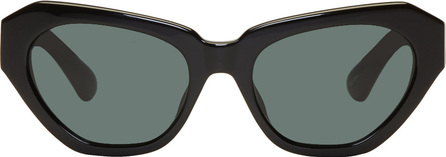 Dries Van Noten Black Linda Farrow Edition 166 C7 Sunglasses
