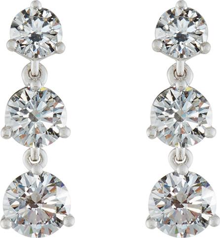Memoire Diamond Three-Drop Earrings