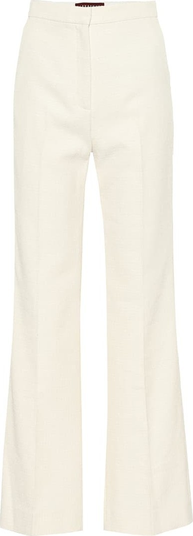 Alexachung Francoise cotton-blend pants