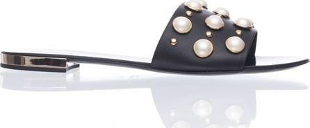 Ninalilou Ninalilou Pearls Black Slipper