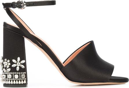 ROCHAS Embellished block heel sandals