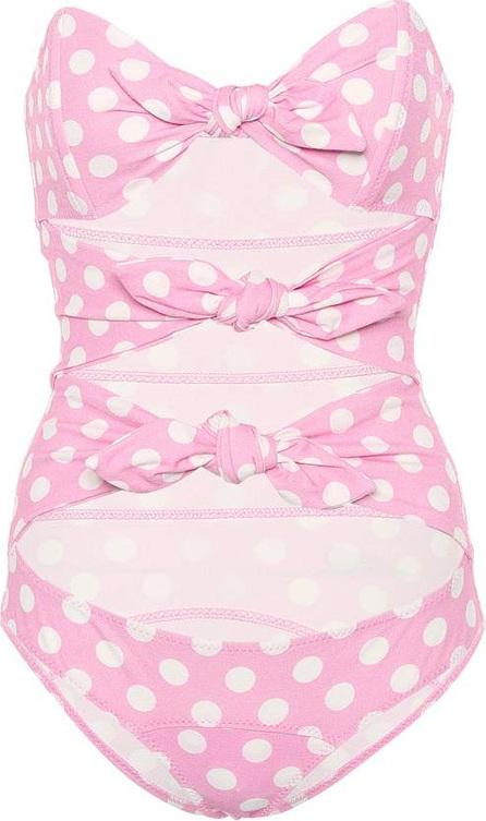 Lisa Marie Fernandez Triple Poppy polka-dot swimsuit