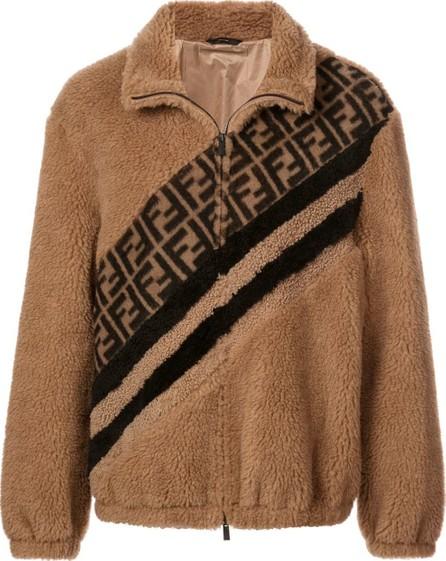 Fendi Panelled FF logo jacket