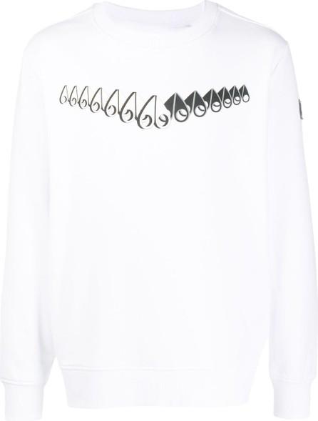 Moose Knuckles 3D Perspective logo sweatshirt