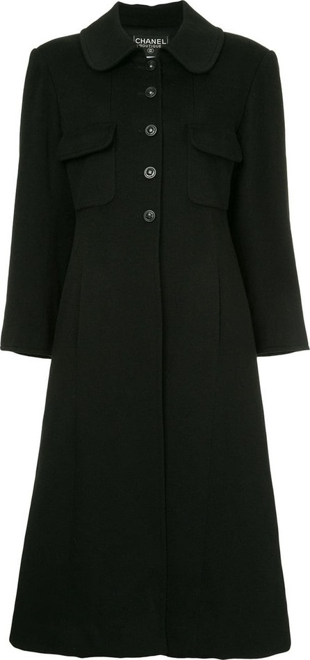 CHANEL Cashmere long sleeve coat
