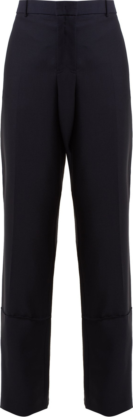 Jil Sander Ethan straight-leg wool and mohair-blend trousers