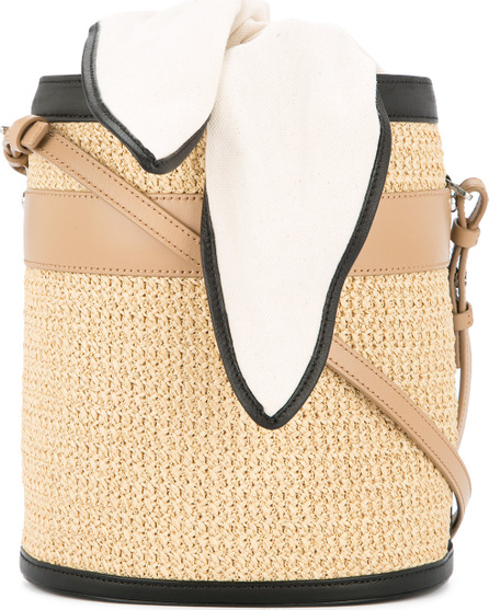 Eudon Choi Straw bucket bag