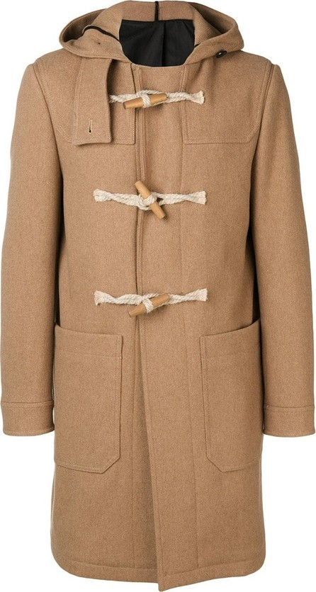 AMI Buttoned single-breasted coat