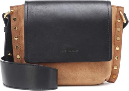 Isabel Marant Asli Small suede shoulder bag