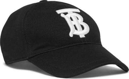 Burberry London England Logo-Embroidered Cotton-Twill Baseball Cap