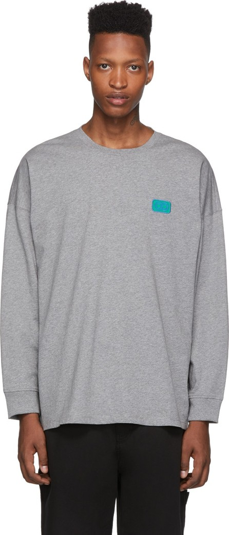 Opening Ceremony Grey Unisex OC Long Sleeve T-Shirt