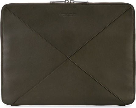 Bottega Veneta Oversized Intrecciato clutch bag