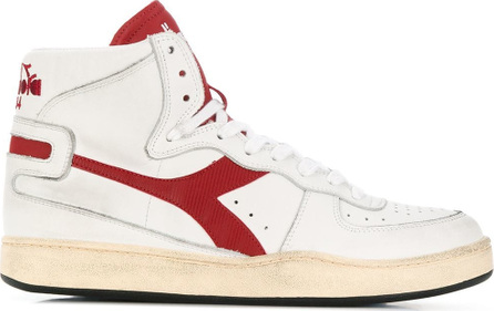 Diadora Side logo high top sneakers