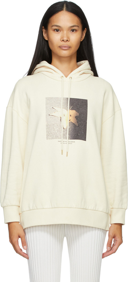 Stella McCartney Off-White 'Faces In Places' Hoodie