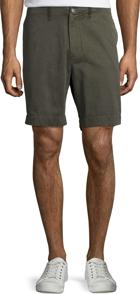 Billy Reid Clyde Cotton-Linen Shorts