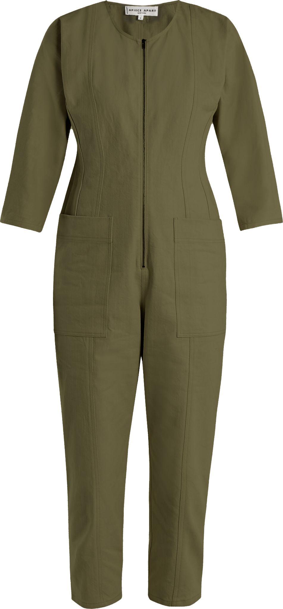 0a64cc13985 APIECE APART Flame Thrower straight-leg denim jumpsuit - Mkt