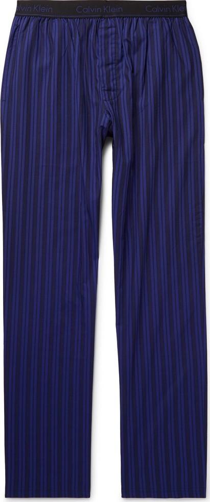 Calvin Klein Underwear Striped Cotton-Poplin Pyjama Trousers