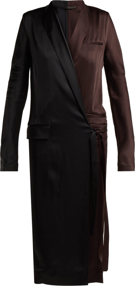 Haider Ackermann Kuiper wrap dress