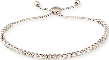 Cassidy Diamonds 18K White Gold Illusion-Set White Diamond Bracelet