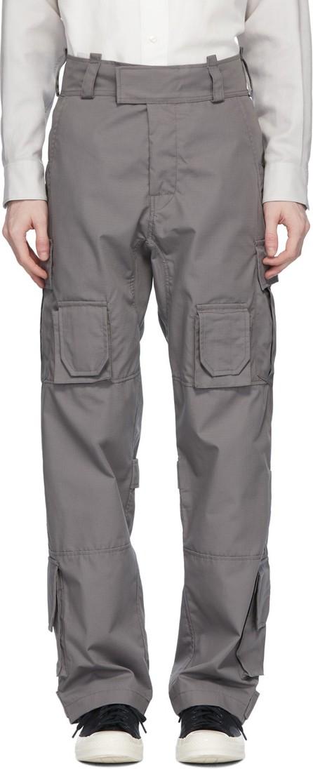 N.Hoolywood Grey Utility Cargo Pants