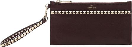 Valentino Rockstud No Limit Medium Flat Pouch Bag