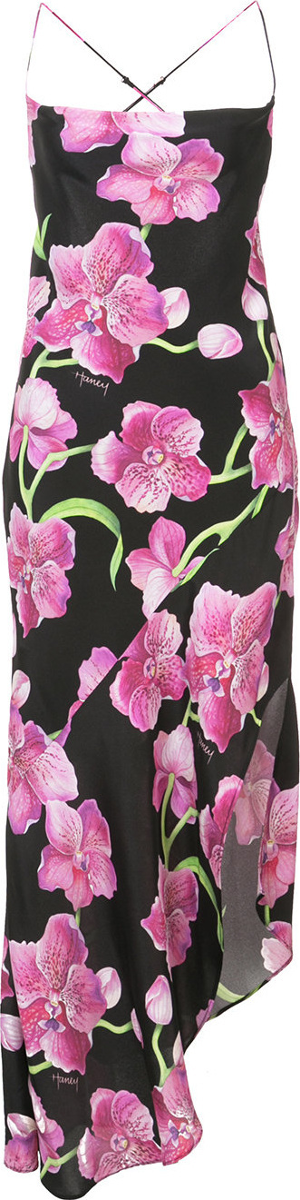 Haney Orchid print dress
