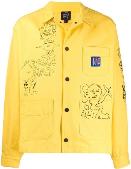 Brain Dead Sketch print jacket