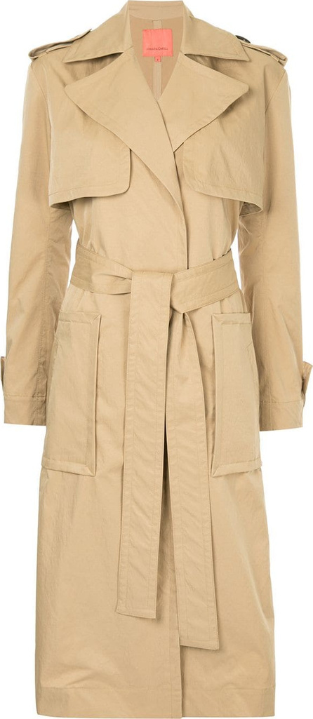 Manning Cartell Military style trench coat