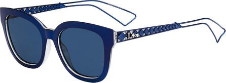 Dior Diorama Caged Mirrored Sunglasses