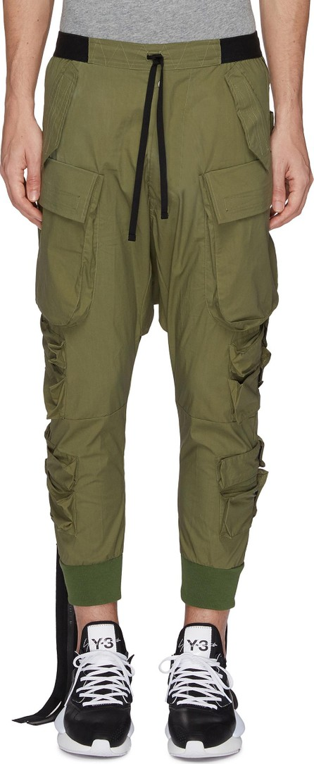 Ben Taverniti Unravel Project Strap slim fit cargo jogging pants