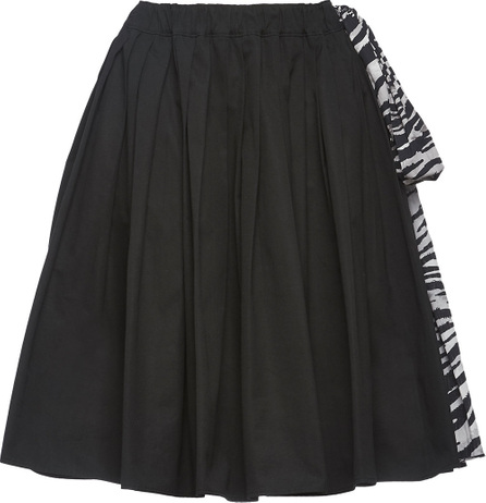 Prada Pleated A-line skirt
