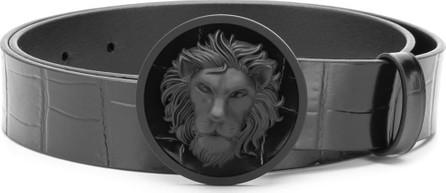 Versus Versace Lion head buckle belt