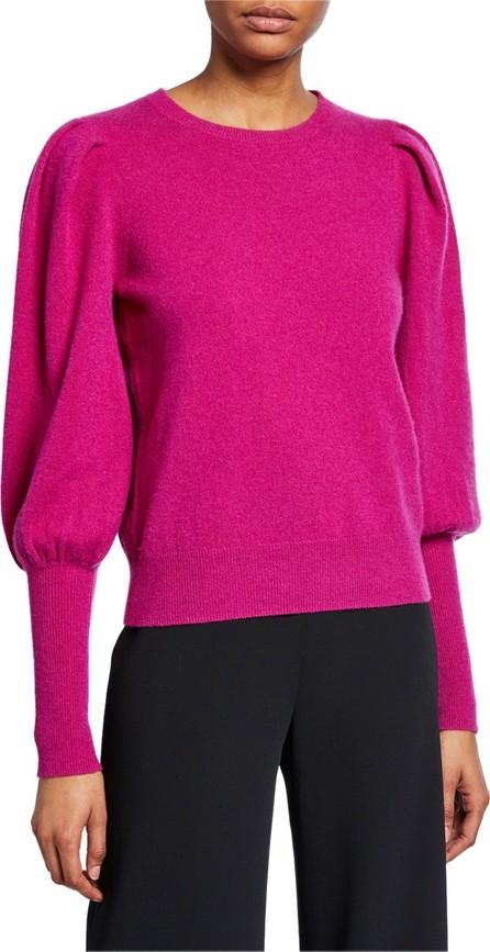 Jonathan Simkhai Cashmere Puff-Sleeve Sweater