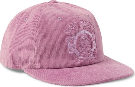 Cav Empt Logo-Embroidered Cotton-Corduroy Baseball Cap