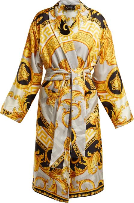 Versace La Coupe des Dieux baroque-print silk robe