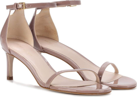 Stuart Weitzman Nudistsong 45 patent leather sandals