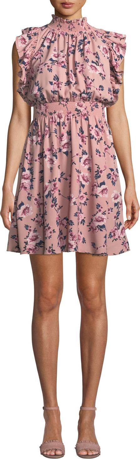 Kate Spade New York sleeveless prairie rose mini dress