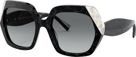Alain Mikli Evanne Square Acetate Sunglasses