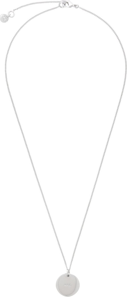 A.P.C. Silver Eloi Necklace