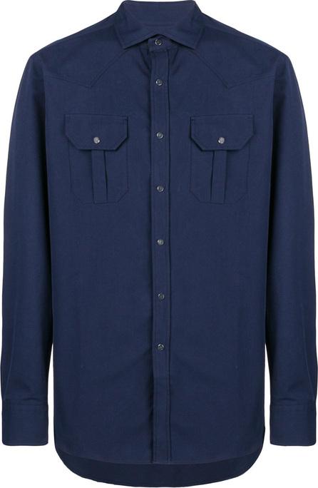 Bagutta Casual chest pocket shirt