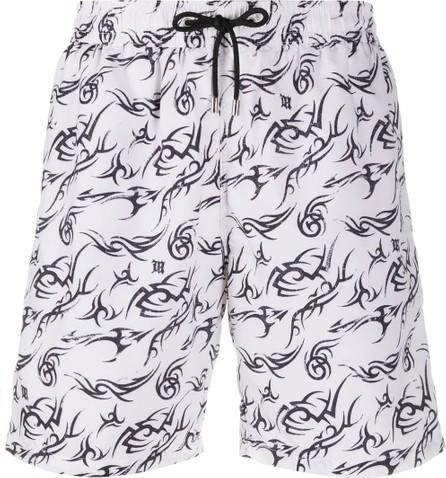 Misbhv Tattoo print swim shorts