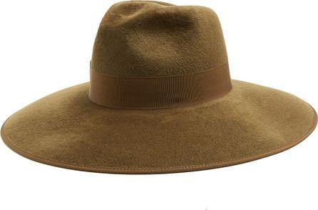 Gucci GG-embellished fur-felt hat