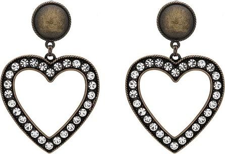 Alessandra Rich Heart Shaped Earrings