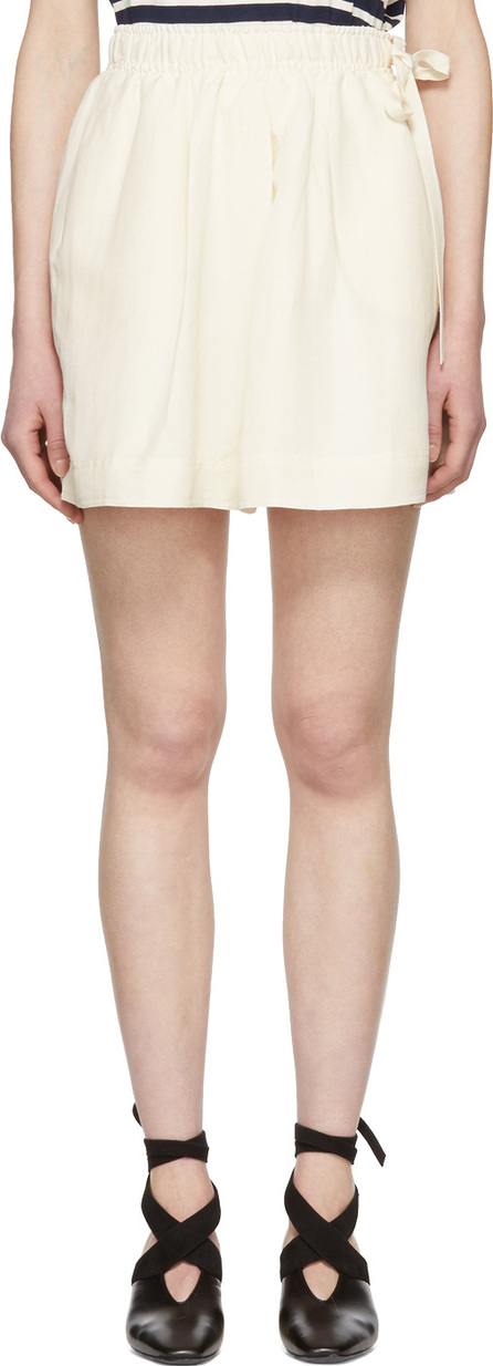J.W.Anderson Off-White Logo Pocket Shorts