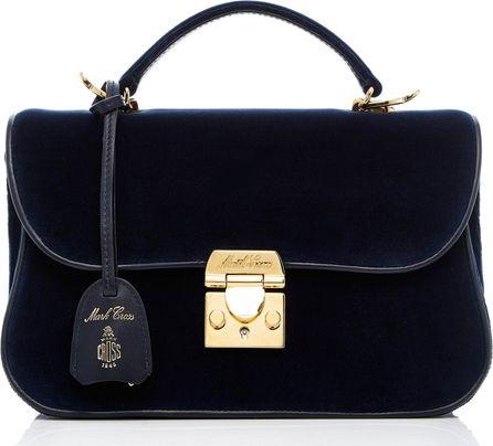 Mark Cross Dorothy Velvet Bag